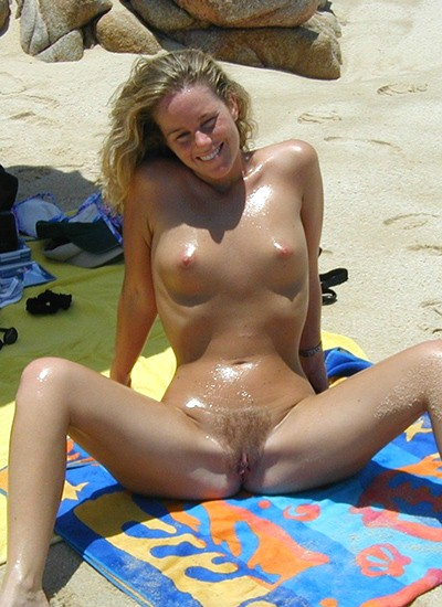 My girl loves nudist beach